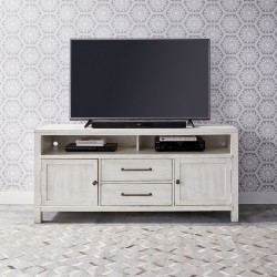 Modern Farmhouse 66 Inch Entertainment Console