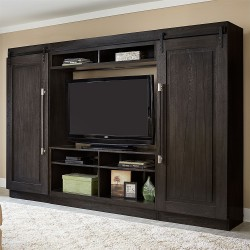Abbey Entertainment Center with Piers