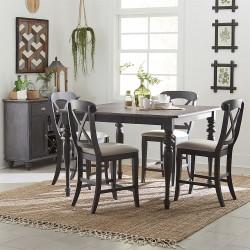 Ocean Isle 5 Piece Gathering Table Set